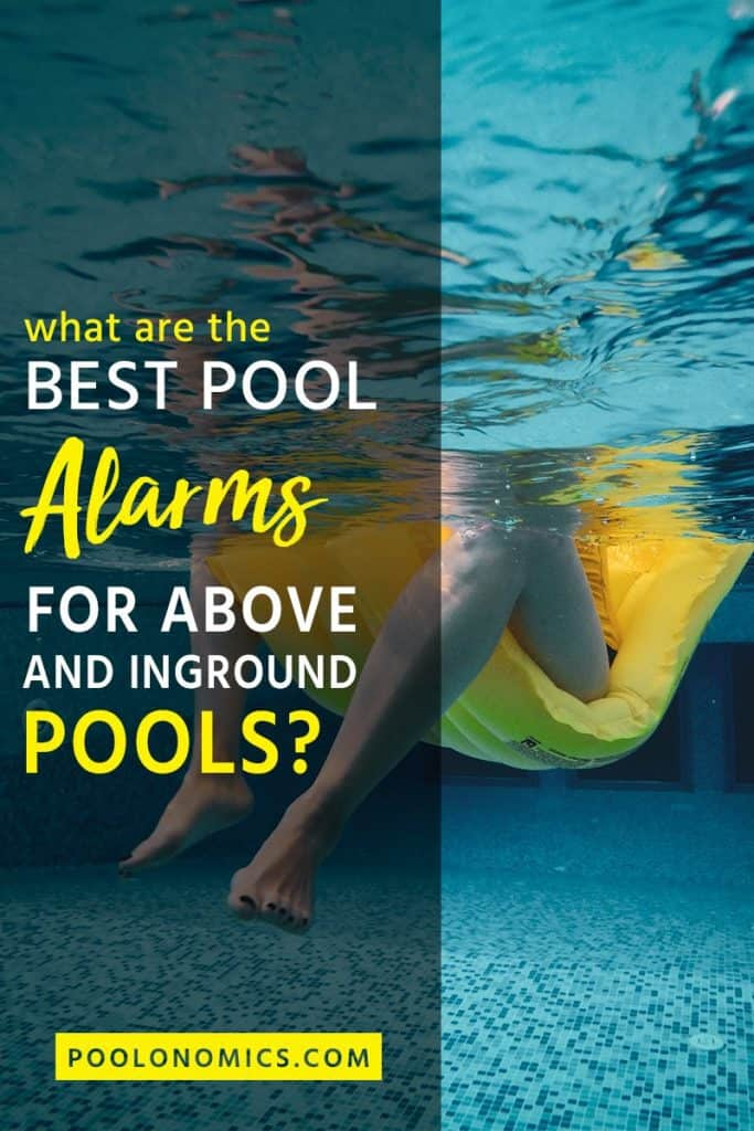 This small gadget can save a family member or pet from drowning. Here's what you should know when choosing the best pool alarm for your swimming pool, including the various types of products available for both inground and above ground pools. #swimming #poolonomics
