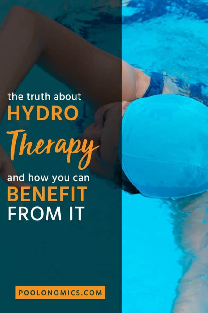 Hydrotherapy is not just exercising in the pool, it's a spa treatment that helps you relax and relieve the pain. Here's everything you need to know about hydrotherapy, along with a few other benefits that might surprise you. #therapy #poolonomics