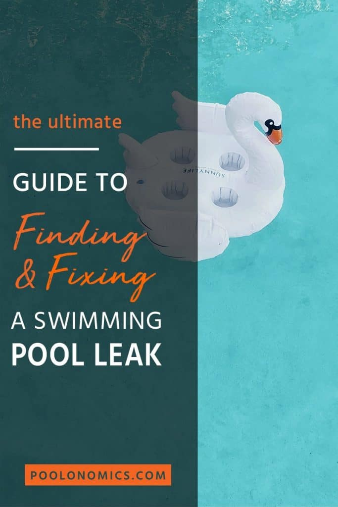 This is a detailed guide that will cover the exact steps to identify and fix a leak for both inground and above ground swimming pools. So you can get everything up and running again in a jiffy. #poolmaintenance #poolonomics