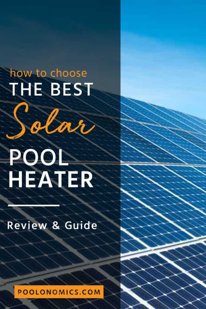 Looking for the best solar pool heater? Check out this article from Poolonomics that will show you how to get the best solar pool heater products for raising the temperature of your swimming pool from the sun naturally. So you can enjoy a swim any time, not just in the summer. #poolheater #poolonomics