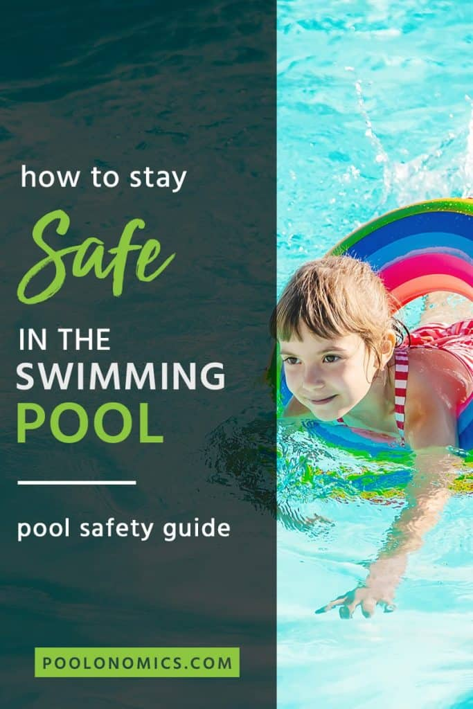 It's easy to forget about pool safety when having fun in the heat summer. Here we'll cover some pool safety tips, as well as a few things parents should teach their kids about pool safety. #poolonomics #poolsafety