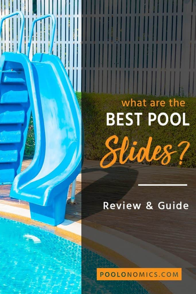 Pool slides provide hours of entertainment, so your kids can get the most enjoyment from your pool. Here's everything you need to know before buying a pool slide, so you can get the best pool slide for your swimming pool. #poolonomics #summer #backyard