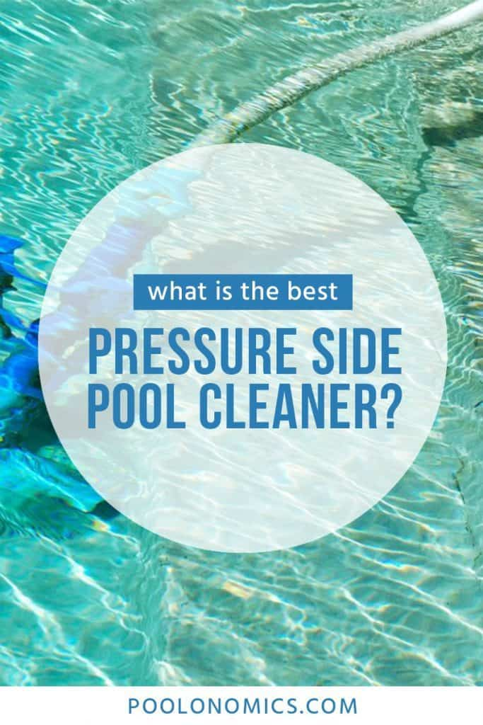 A pressure-side pool, automatic pool cleaner keeps your water clean, but do you know what to look for when buying one? Get our recommendations on the particular device best suited for your swimming pool.  #poolonomics #swimmingpool #poolcleaner