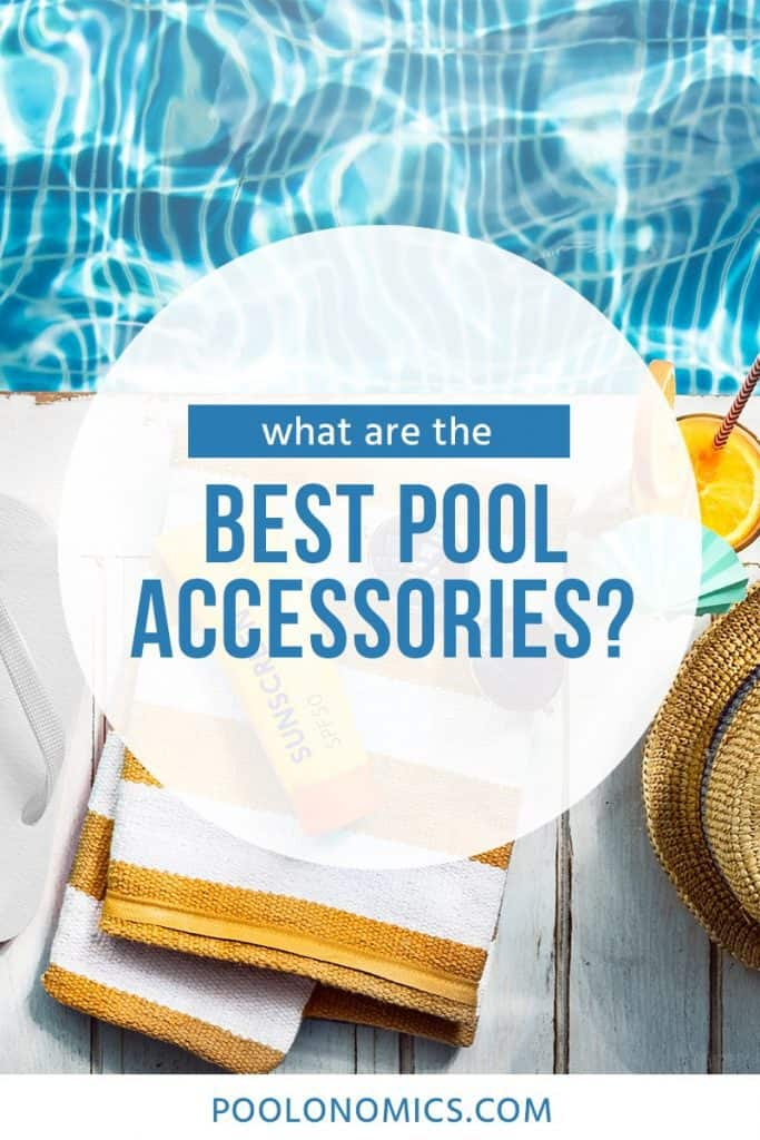 Discover the best pool accessories to have this summer. With everything from toys and games, to entertainment and leisure, when you're armed with the right gear, you and your kids will get the most from every pool session. #poolonomics #swimmingpool #summer
