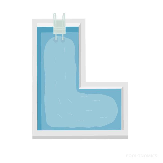 L-Shaped Pools